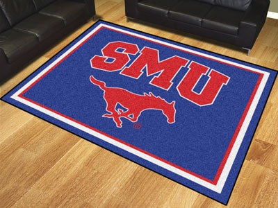 "NCAA Officially licensed Southern Methodist University 8x10 Rug 87""x117"" Show off your team pride in a big way! 8'x10' ultra"