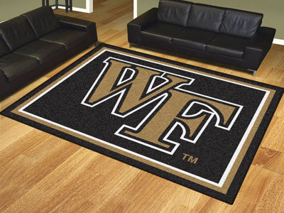 "NCAA Officially licensed Wake Forest University 8x10 Rug 87""x117"" Show off your team pride in a big way! 8'x10' ultra plush"
