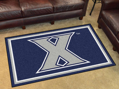 "NCAA Officially licensed Xavier University 4x6 Rug 44""x71"" Show off your team pride in a big way! 4'x6' ultra plush area rug"