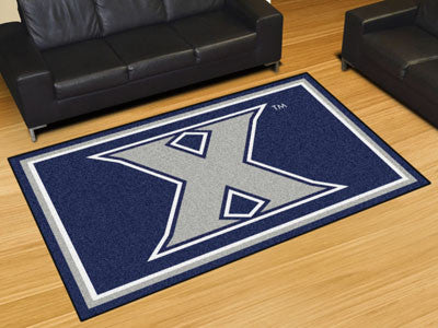 "NCAA Officially licensed Xavier University 5x8 Rug 59.5""x88"" Show off your team pride in a big way! 5'x8' ultra plush area r"