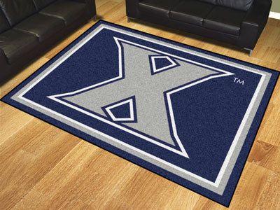 "NCAA Officially licensed Xavier University 8x10 Rug 87""x117"" Show off your team pride in a big way! 8'x10' ultra plush area"