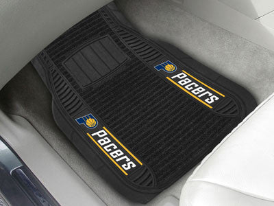 "NBA Officially licensed products Indiana Pacers Deluxe Mat 21""x27"" Deluxe Car Mats are perfect for anyone who is serious abo"