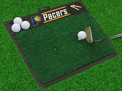 "NBA Officially licensed products Indiana Pacers Golf Hitting Mat 20"" x 17"" Work on your backswing while showing off your tea"