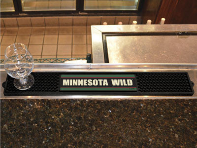 "NHL Officially licensed products Minnesota Wild Drink Mat 3.25""x24"" Keep your freshly crafted drinks safe with our new offic"