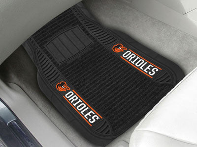 MLB Officially licensed products  Deluxe Car Mats are perfect for anyone who is serious about their ride and team pride! Vin