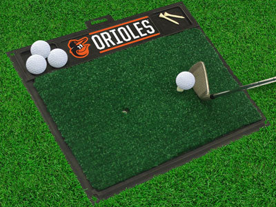 MLB Officially licensed products  Work on your backswing while showing off your team pride with Golf Hitting Mats from Sport
