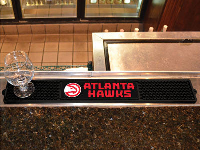 "NBA Officially licensed products Atlanta Hawks Drink Mat 3.25""x24"" Keep your freshly crafted drinks safe with our new offici"
