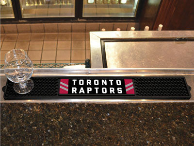 "NBA Officially licensed products Toronto Raptors Drink Mat 3.25""x24"" Keep your freshly crafted drinks safe with our new offi"