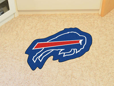 NFL Officially licensed products Buffalo Bills Mascot Mat Looking for a unique rug to decorate your home or office with? Mas