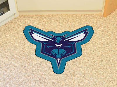 NBA Officially licensed products Charlotte Hornets Mascot Mat Looking for a unique rug to decorate your home or office with?