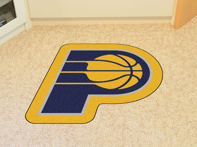 NBA Officially licensed products Indiana Pacers Mascot Mat Looking for a unique rug to decorate your home or office with? Ma
