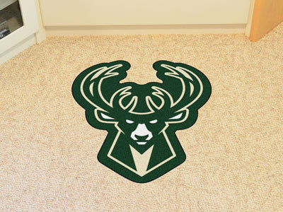 NBA Officially licensed products Milwaukee Bucks Mascot Mat Looking for a unique rug to decorate your home or office with? M