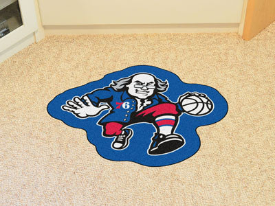 NBA Officially licensed products Philadelphia 76ers Mascot Mat Looking for a unique rug to decorate your home or office with