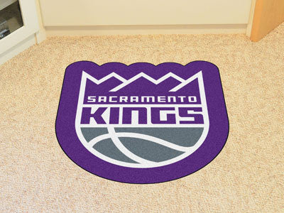 NBA Officially licensed products Sacramento Kings Mascot Mat Looking for a unique rug to decorate your home or office with?