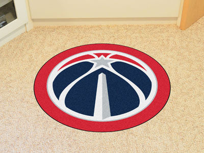 NBA Officially licensed products Washington Wizards Mascot Mat Looking for a unique rug to decorate your home or office with