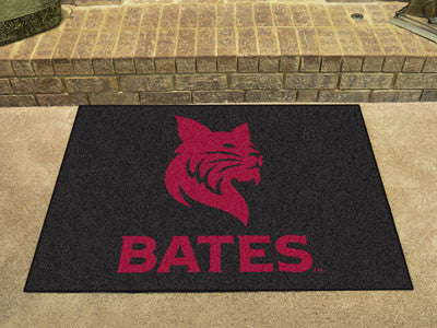 "NCAA Officially licensed Bates College All Star Mat 33.75""x42.5"" Join the All-Star team and decorate your home or office wit"