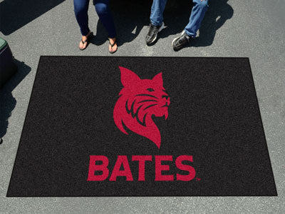 "NCAA Officially licensed Bates College Ulti-Mat 59.5""x94.5"" Start showing off your team pride with an Ulti-Mat from Sports L"