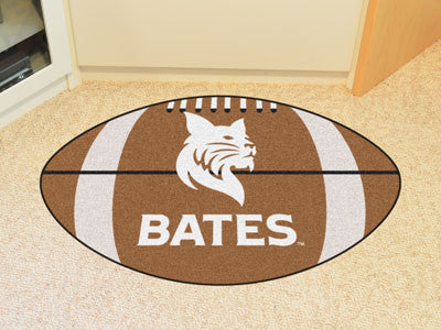 "NCAA Officially licensed Bates College Football Mat 20.5""x32.5"" Protect your floor in style and show off your fandom with Fo"