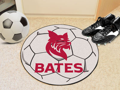 "NCAA Officially licensed Bates College Soccer Ball 27"" diameter Protect your floor in style and show off your fandom with So"