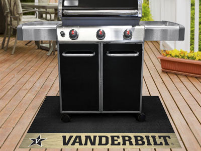 "NCAA Officially licensed Vanderbilt University Grill Mat 26""x42"" Are you a die-hard sports fan that likes to show off your t"