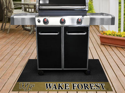 "NCAA Officially licensed Wake Forest University Grill Mat 26""x42"" Are you a die-hard sports fan that likes to show off your"