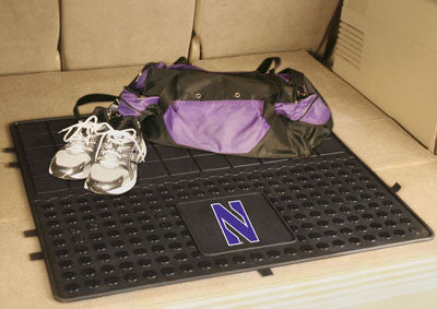 "NCAA Officially licensed Northwestern University Heavy Duty Vinyl Cargo Mat 31""x31"" Protect your cargo with heavy duty Cargo"
