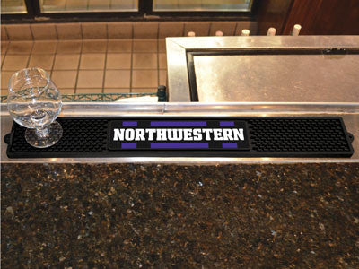"NCAA Officially licensed Northwestern University Drink Mat 3.25""x24"" Keep your freshly crafted drinks safe with our new offi"