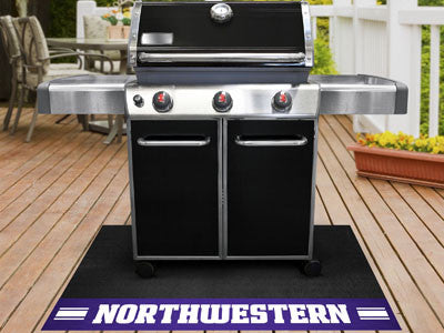 "NCAA Officially licensed Northwestern University Grill Mat 26""x42"" Are you a die-hard sports fan that likes to show off your"