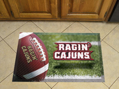 "NCAA Officially licensed University of Louisiana-Lafayette Scraper Mat 19""x30"" Scraper Mats by Sports Licensing Solutions ar"