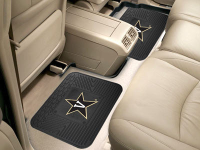 "NCAA Officially licensed Vanderbilt University 2 Utility Mats 14""x17"" Boast your team colors with backseat Utility Mats by S"