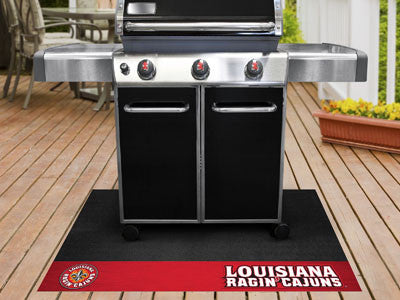 "NCAA Officially licensed University of Louisiana-Lafayette Grill Mat 26""x42"" Are you a die-hard sports fan that likes to sho"