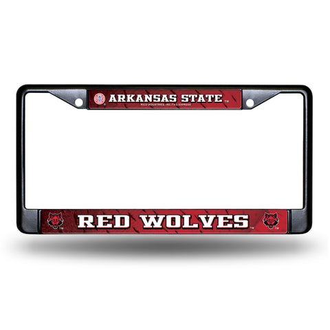 ALABAMA STATE BLACK CHROME FRAME