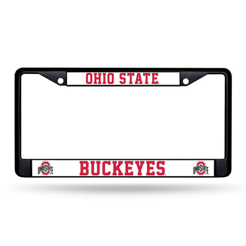 OHIO STATE BLACK CHROME FRAME