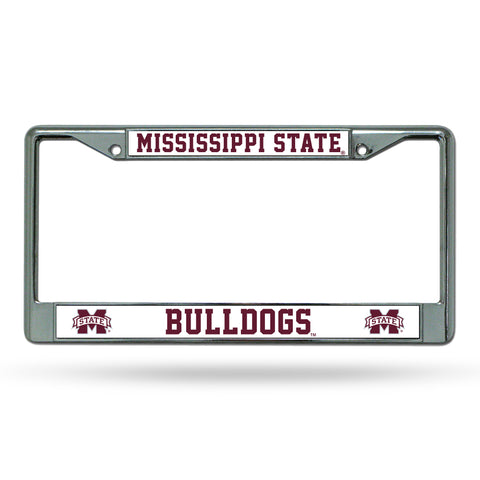 MISSISSIPPI STATE CHROME FRAME