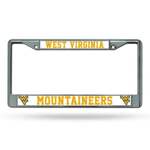 WEST VIRGINIA CHROME FRAME