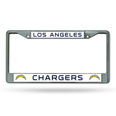 LOS ANGELES CHARGERS CHROME FRAME