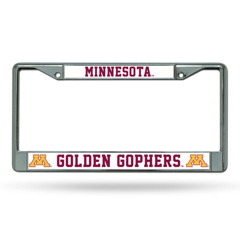 MINNESOTA GOLDEN GOPHERS CHROME FRAME