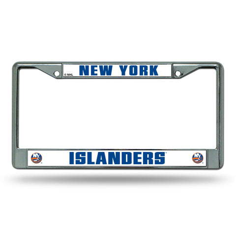 NEW YORK ISLANDERS CHROME FRAME