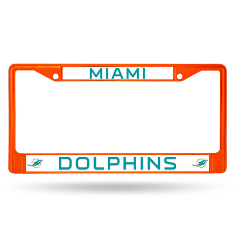 DOLPHINS ORANGE COLORED CHROME FRAME
