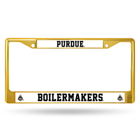 PURDUE GOLD COLORED CHROME FRAME Version 2