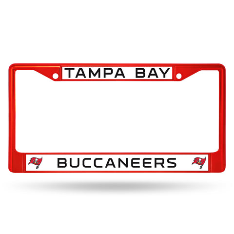 BUCCANEERS RED COLORED CHROME FRAME