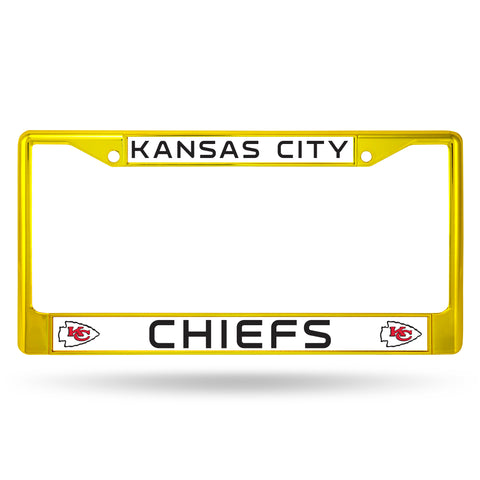 CHIEFS COLORED CHROME FRAME SECONDARY YELLOW