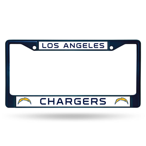 LOS ANGELES CHARGERS COLORED CHROME FRAME NAVY