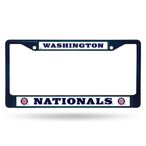 NATIONALS NAVY COLORED CHROME FRAME