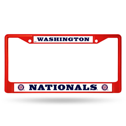 NATIONALS COLORED CHROME FRAME SECONDARY RED
