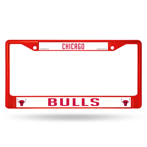 BULLS RED COLORED CHROME FRAME