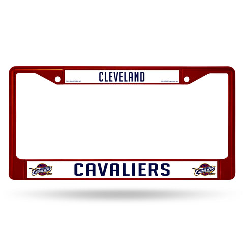 CAVALIERS MAROON COLORED CHROME FRAME Version 1