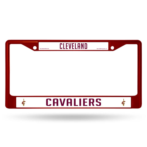 CAVALIERS MAROON COLORED CHROME FRAME Version 2