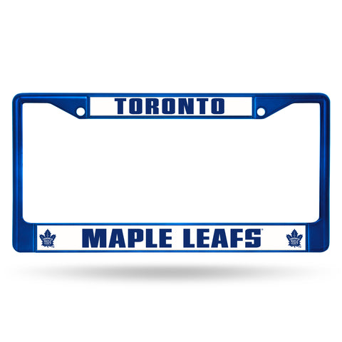 MAPLE LEAFS BLUE COLORED CHROME FRAME