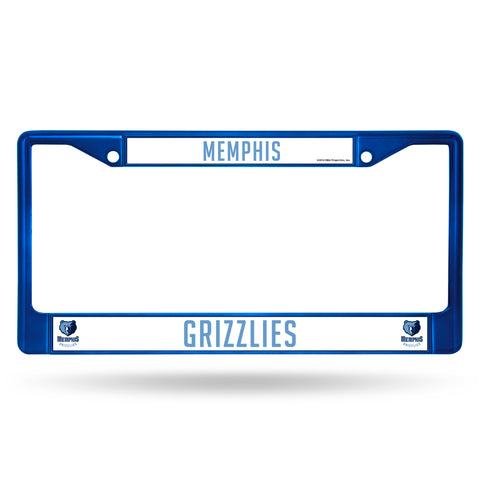GRIZZLIES BLUE COLORED CHROME FRAME